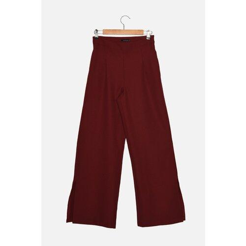 Trendyol Burgundske pantalone sa širokim nogama  Cene