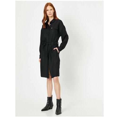 Koton Ženska detaljna haljina s crnim gumbima  Cene