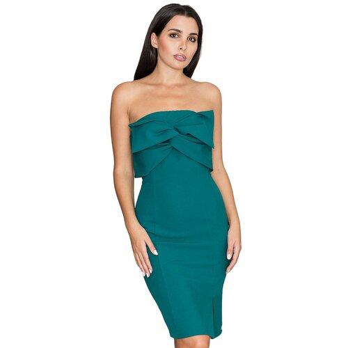 Figl Ženska haljina M571 tirkizna  Cene