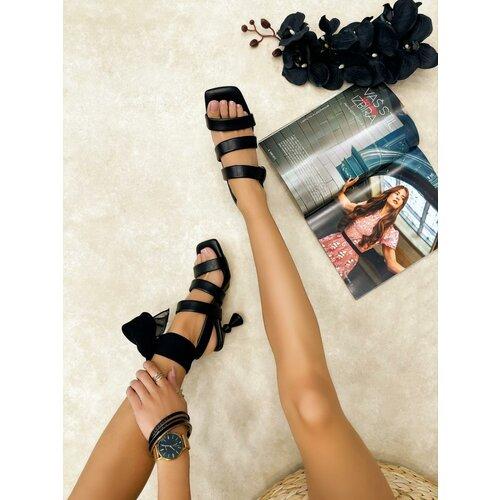 Hop Hop 16233 - ženske sandale anula - crna  Cene