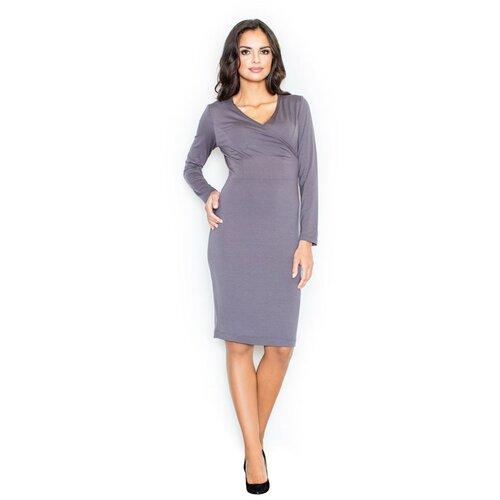 Figl Ženska haljina M264 siva  Cene