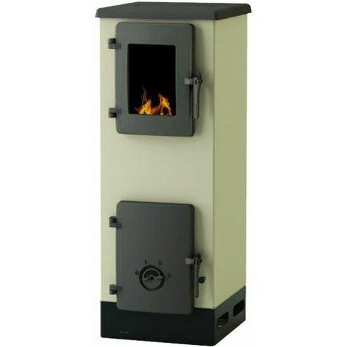 ALFA PLAM Alfa VULKAN S, krem S-4993 peć na čvrsto gorivo Slike