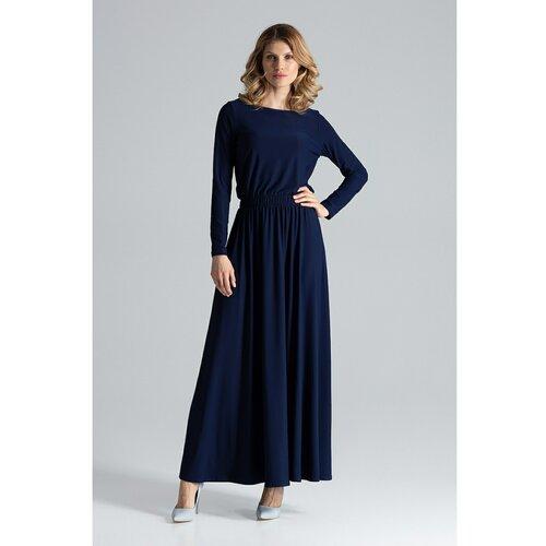 Figl Ženska haljina M604 crna plava  Cene