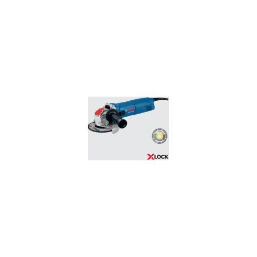 Bosch ugaona brusilica GWX 14-125 + 1x X-Lock Dijamantska rezna ploča, 125mm, 1400W, 125mm 06017B7001 Slike