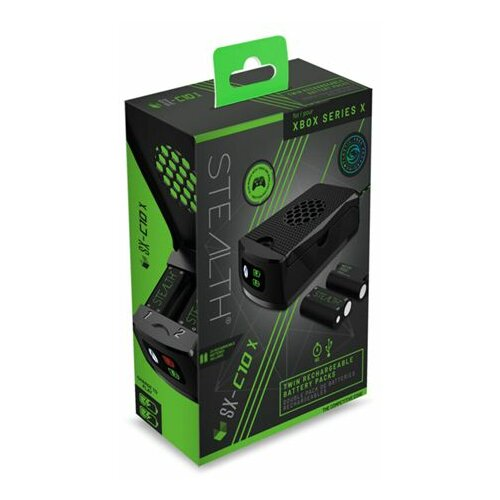 4gamers Stealth Series X Twin Rechargeable Battery Packs Slike