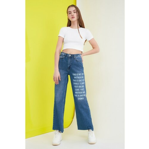 Trendyol široke traperice 90 -ih s visokim strukom  Cene