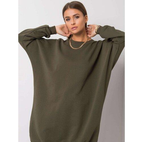 Fashionhunters Haki haljina sa povećim haljinama  Cene
