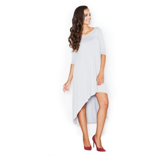 Figl Ženska haljina M392 -Uzorak 2 bela | braon  Cene