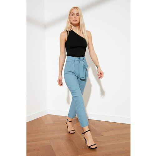 Trendyol Blue Tie Detaljne hlače  Cene