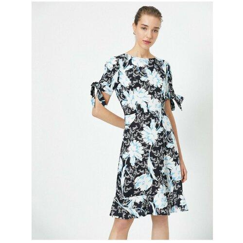 Koton Ženska plava cvjetna haljina  Cene