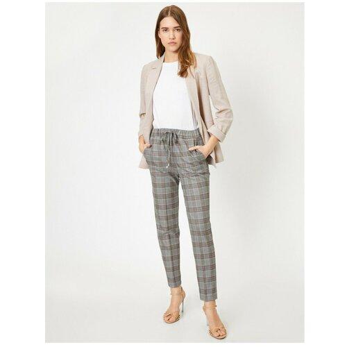 Koton ženske sive karirane hlače  Cene