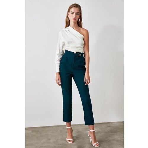 Trendyol Ženske pantalone Stud Pants crne boje  Cene