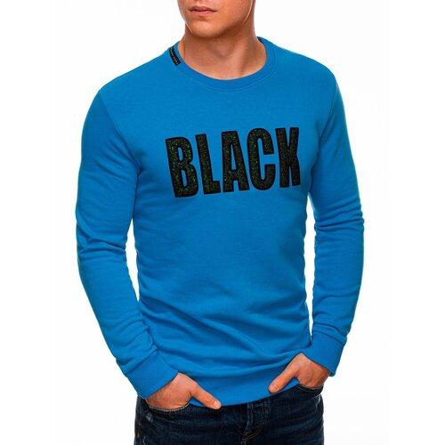 Edoti Muška dukserica B1316 crna | plava  Cene