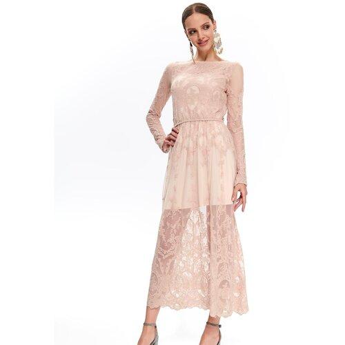 Top Secret Ženska čipkana detaljna krem haljina  Cene