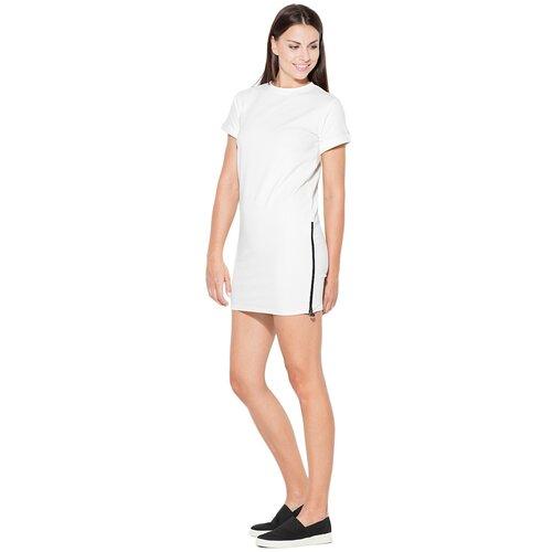 Katrus Ženska haljina K349 bela | braon  Cene
