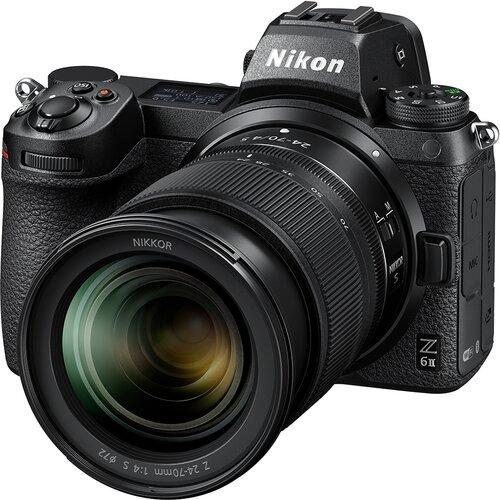 Nikon Z6 II + 24-70MM F/4 + FTZ Adapter digitalni fotoaparat Slike