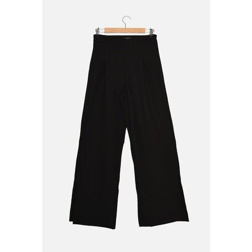 Trendyol Crne pantalone širokih nogavica  Cene