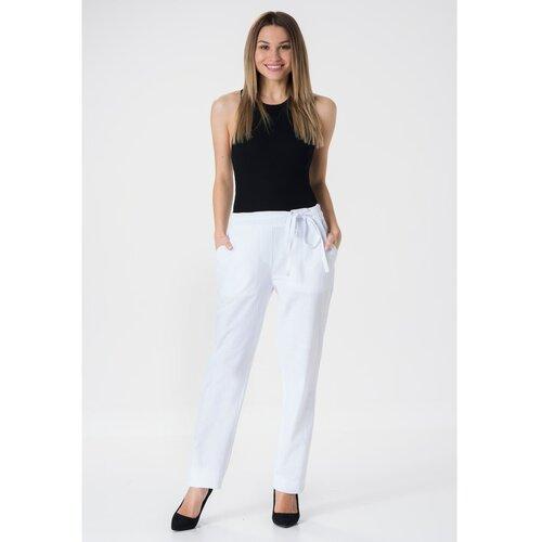 MiR Ženske hlače 263 crne | bijela  Cene