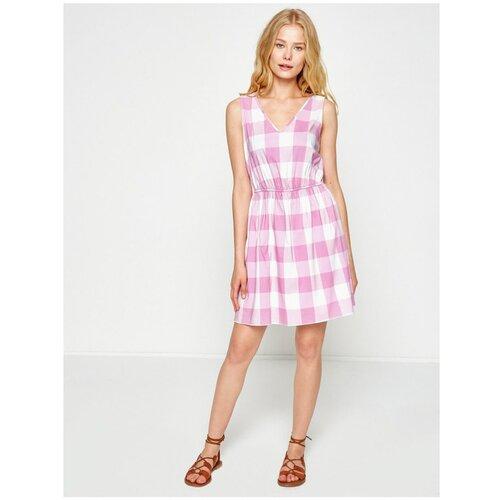 Koton Ženska karirana haljina ružičasta  Cene