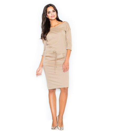 Figl Woman's Dress M203 braon | narandžasta | krem  Cene