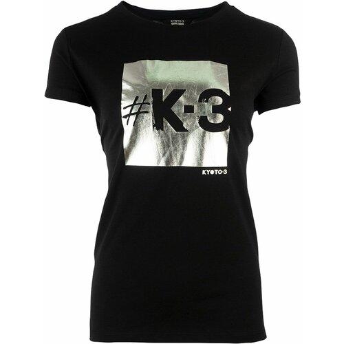 Kyoto-3 square 53504_BLKSIL ženska majica kratak rukav  Cene