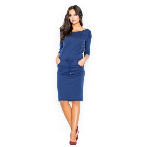 Figl Ženska haljina M203 Mornarsko plava  Cene