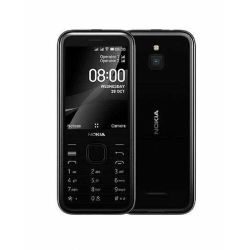 Nokia 8000 4G WiFi DS Black mobilni telefon Slike