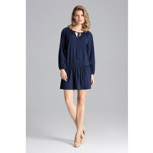 Figl Ženska haljina M661 Teget crna | plava  Cene