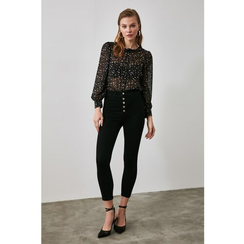 Trendyol Ženske farmerke High waist crna | siva | braon  Cene