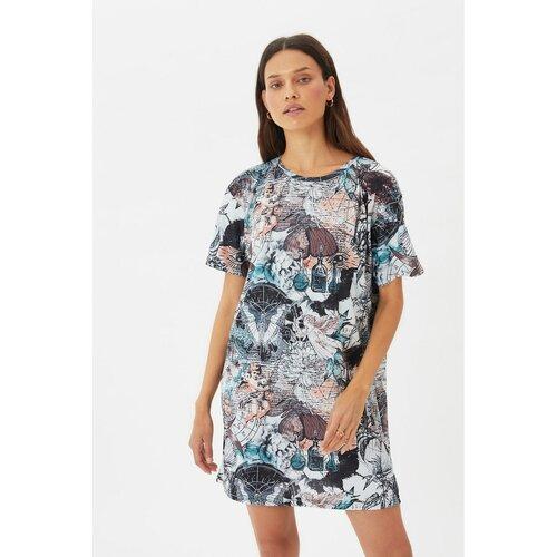 Trendyol Ženska haljina Štampana siva  Cene