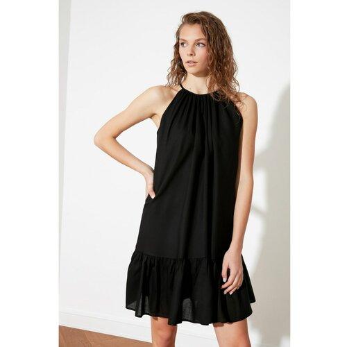 Trendyol crna haljina sa vratima  Cene