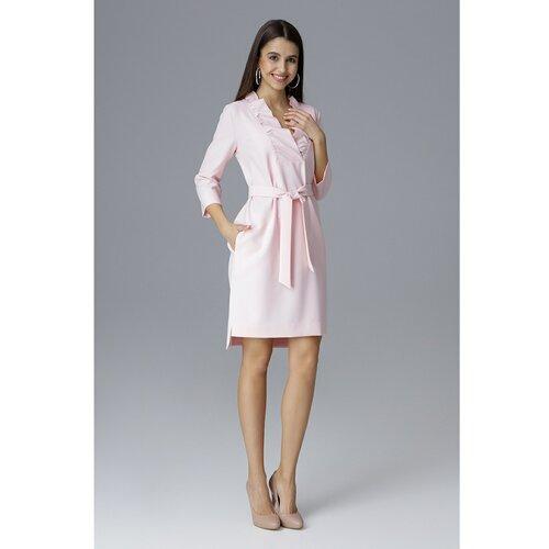 Figl Ženska haljina M644 bijela | pink  Cene