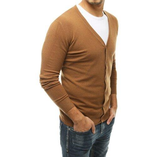 DStreet Muški džemper Camel WX1539 braon  Cene