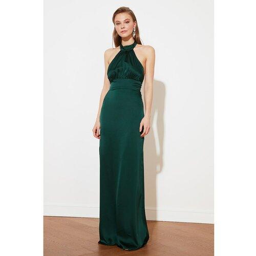 Trendyol Ženska haljina Večernja zelena  Cene