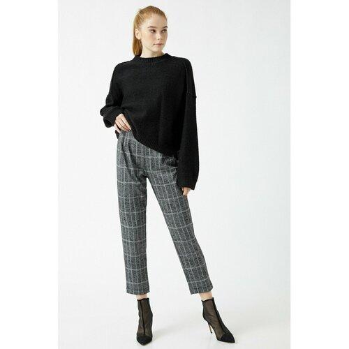 Koton Ženske crne pantalone sa cipelama  Cene