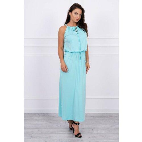 Kesi Boho haljina sa svjetlosnom plavom metvicom  Cene