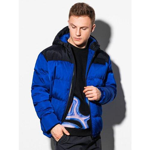 Ombre Odjeća Muška zimska jakna C458 crna | plava  Cene