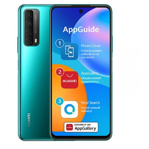 Huawei P Smart 2021 4GB/128GB DS zeleni mobilni telefon Slike