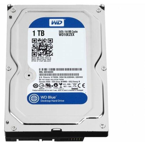 Western Digital Caviar Blue 1TB SATA3 64MB 3.5'' WD10EZEX hard disk Slike