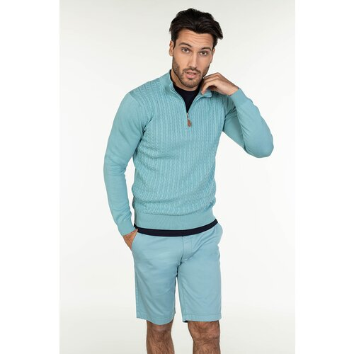 Barbosa muški džemper mdz-8093-25 25 - mint  Cene