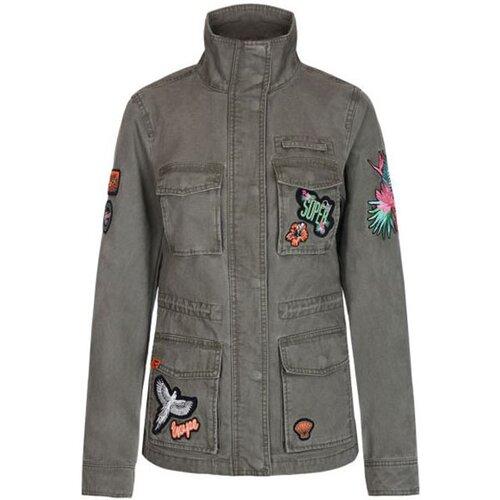 Superdry ženska jakna ROOKIE HAVANA JACKET G50131DQ-EEQ  Cene