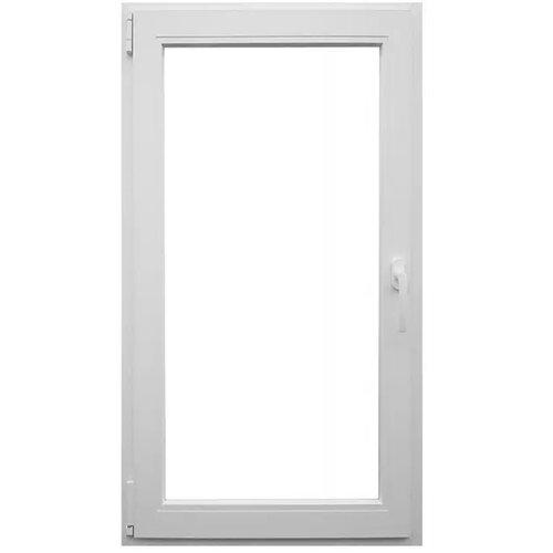 Uradi Sam prozor pvc jednokrilni Š80X V120 levi- 6 komora 76MM Slike