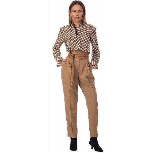 AMC ženske pantalone 125P karamel  Cene