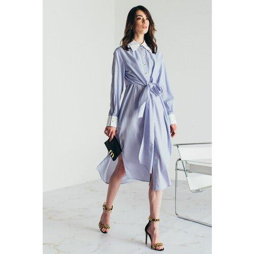 Mona prugasta midi haljina 54114001-1  Cene