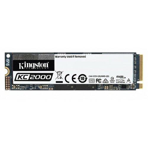 Kingston M.2 2TB KC2500 NVMe 3500/2900 MB/s, SKC2500M8/2000G ssd hard disk Slike