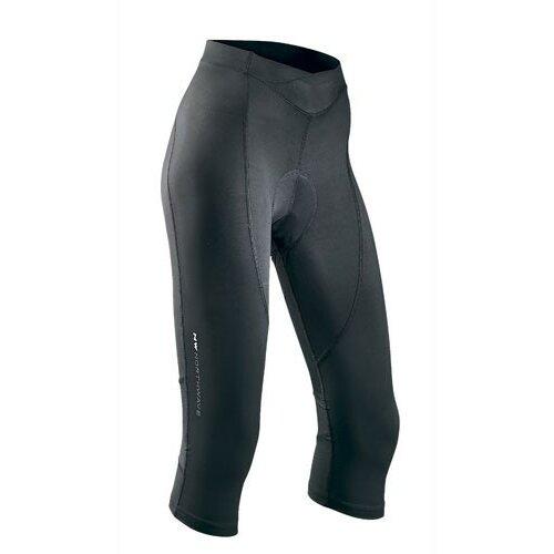Northwave ženske pantalone za biciklizam crystal 2 knickers black Slike