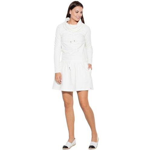 Katrus Ženska haljina K260 bela  Cene