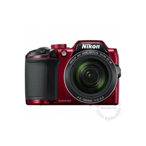 Nikon Coolpix B500 crveni digitalni fotoaparat Slike