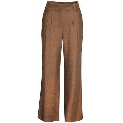 AMC ženske pantalone 295N braon  Cene