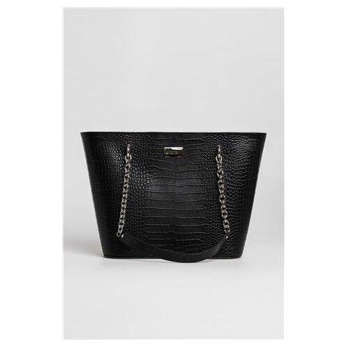 Mona ženska crna tašna s printom 3093602-1  Cene